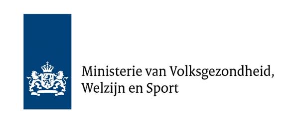 Ministerie van Volksgezondheid, Welzijn en Sport - logo